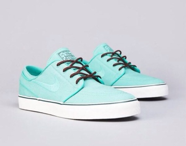 shoes nike nike sb nike sb trainers nike janoski skate shoes ladiestrainers green turquoise nike shoes