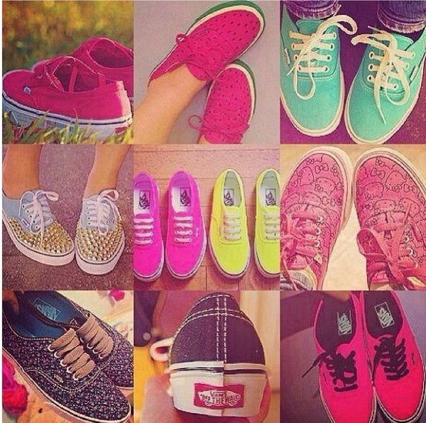 shoes vans cute