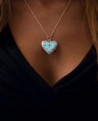 jewels chain heart