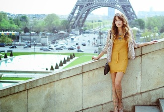 the marcy stop blogger jacket dress jewels shoes
