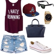shirt,hat,t-shirt,shoes,shorts,bag,jewels