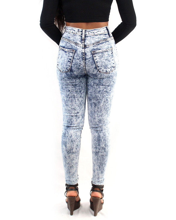 pants acid wash high waisted jeans jeans shirt