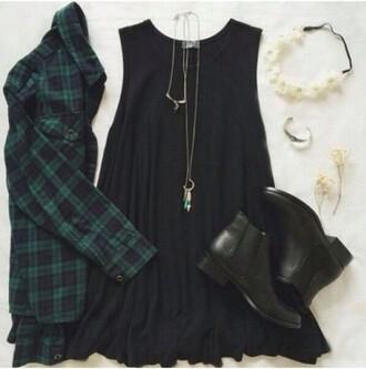 dress grunge black cute punk shoes home accessory
