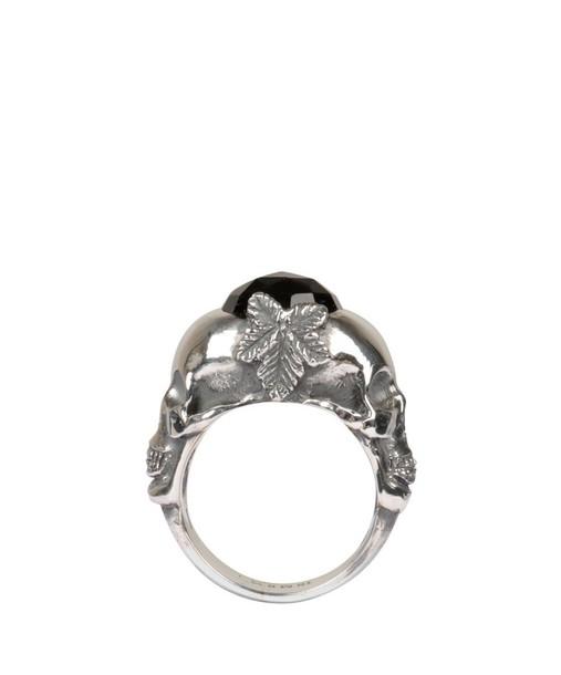Ugo Cacciatori skull ring silver ring silver jewels