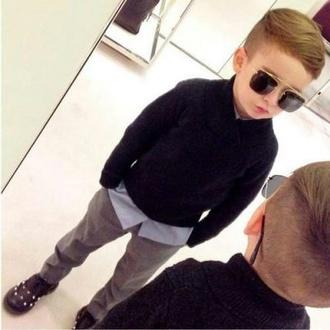 sunglasses guys toddler kids fashion swag kids swag cardigan alonso