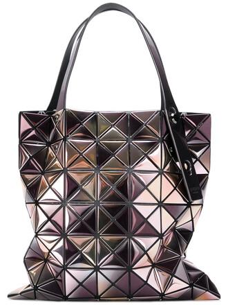 women purple pink bag