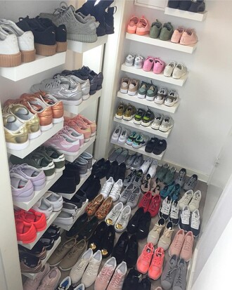 shoes tumblr tumblr shoes kicks hypebeast adidas puma nike closet goals tumblr outfit sneakers puma x rihanna adidas shoes nike shoes yeezus yeezy 350 boost instagram weheartit cover