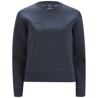 shirt clothes dark blue sweatshirt women women sweatshirt dark blue sweatshirt