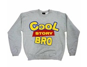 sweater,cool story bro,toy story,grey sweater