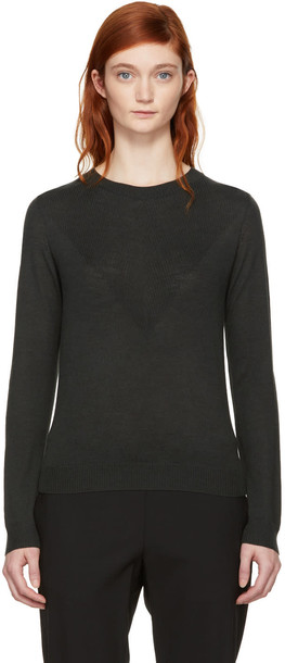 A.P.C. pullover green sweater
