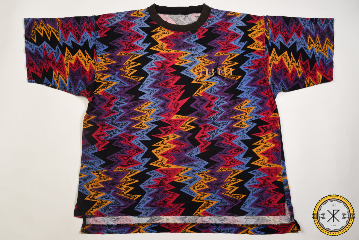 Vintage 90's Nike Air Jordan Allover Print T Shirt |