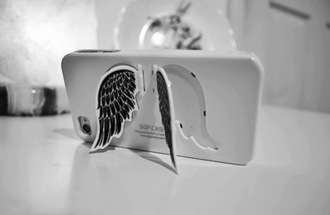 coat love iphone cover iphone beautiful jewels iphone case iphone 5 case wings white 3d girly cute amazing silver black whites iphone 4 case cover iphone 5s phone cover angel phone coool angel case angels black and white angelwings sunglasses i phone case dress angel wings hard iphone 5c luxury make-up