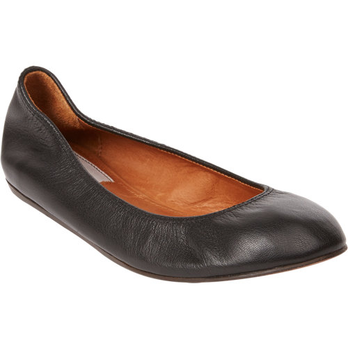 Lanvin leather ballet flats at barneys.com
