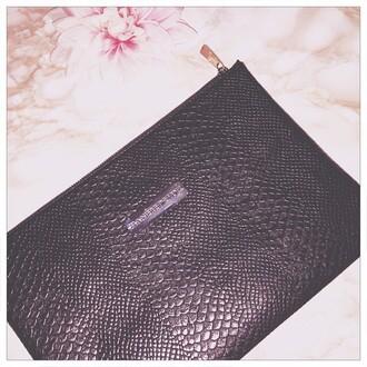 bag maniere de voir womens bag clutch clubwear outfit ottd snake leather leather clutch snake clutch