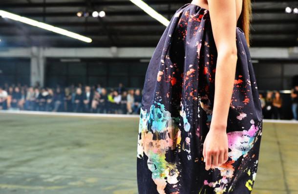 dress multicolor