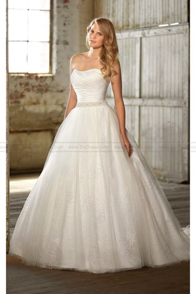 strapless wedding dress 2014 wedding gowns