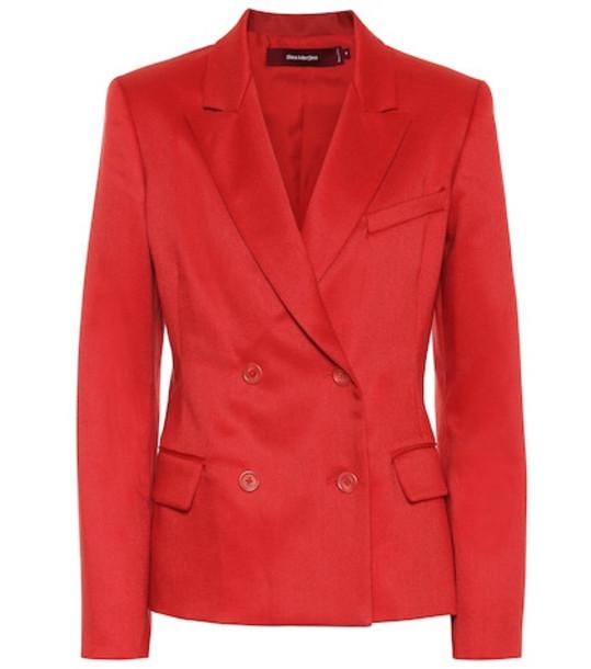 Sies Marjan Oni double-breasted blazer in red