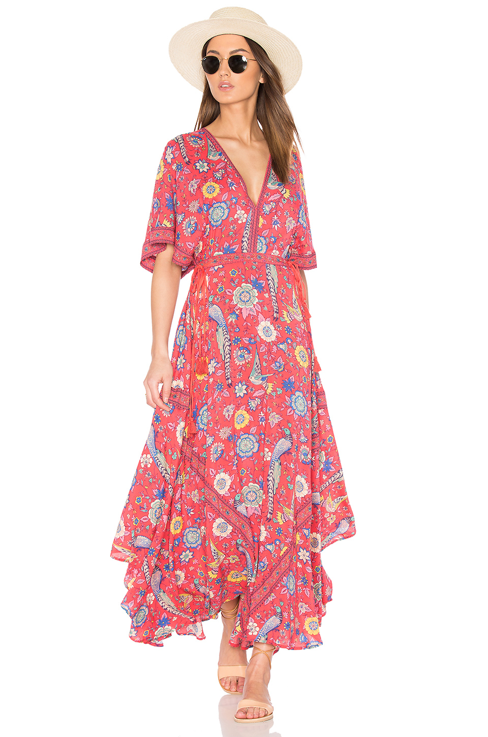 Spell & The Gypsy Collective Half Moon Gown in Rose | REVOLVE