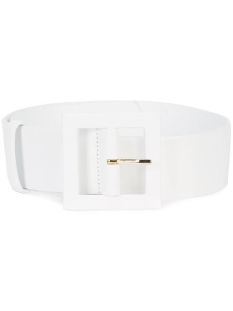 thick belt waist belt white