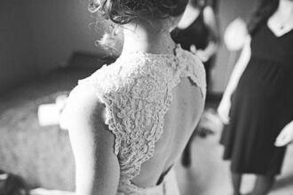 dress hipster wedding backless dress