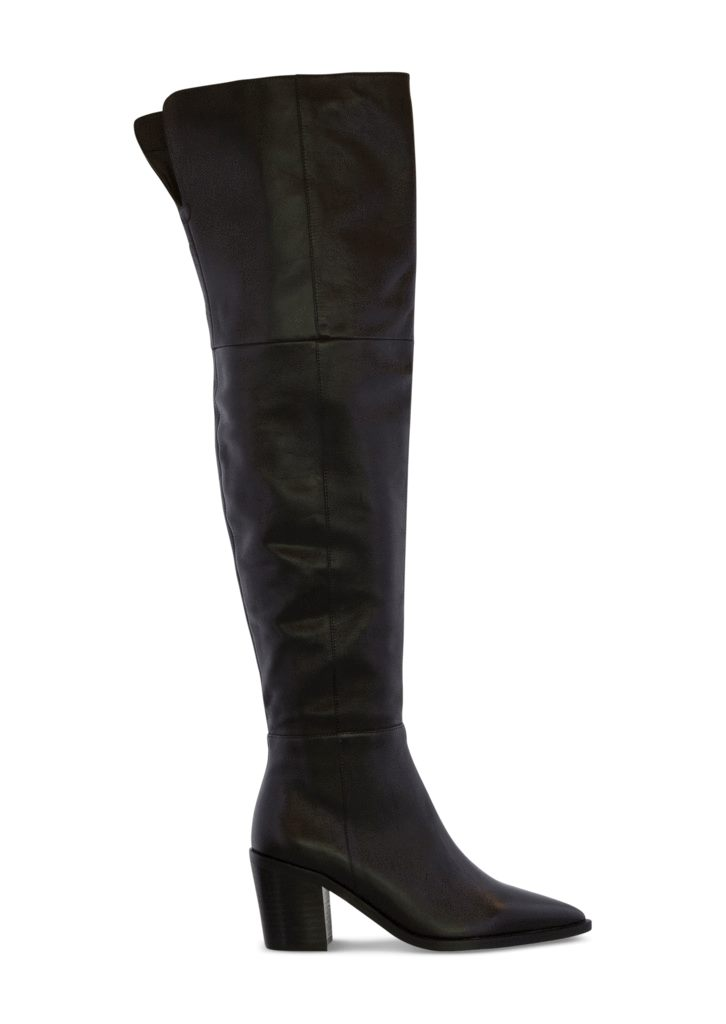 Stefani Black Como Long Boots