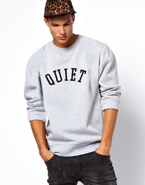 The Quiet Life | The Quiet Life Applique Sweatshirt at ASOS