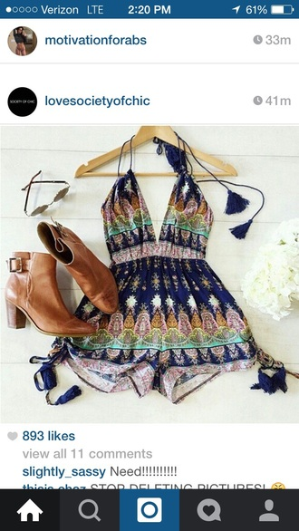 jumpsuit blue dress pink dress romper pattern summer dress summer top