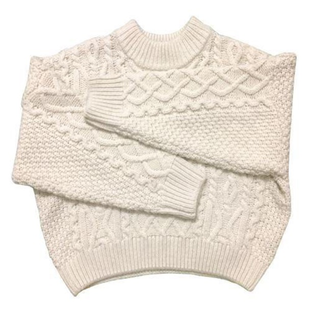 sweater girly sweatshirt cable knit jumper knitwear knit knitted sweater