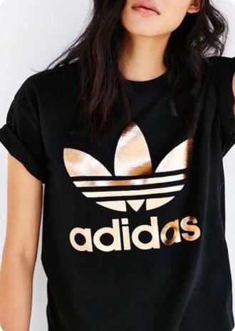 shirt addidas shirt rose gold adidas