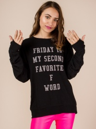 Friday Is My Second Favorite F Word by God Save LA - ShopKitson.com