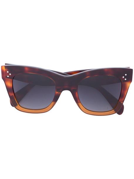 Céline Eyewear women sunglasses brown