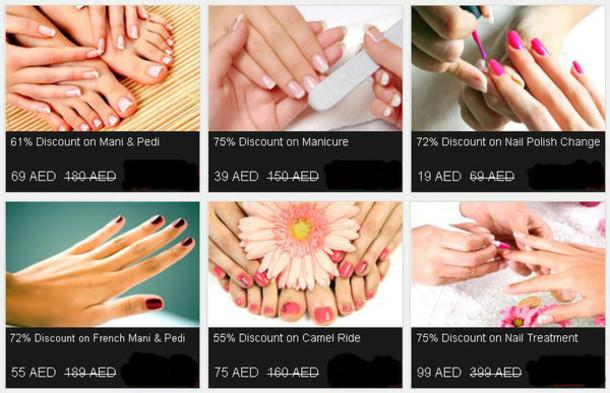 nail polish nail spa