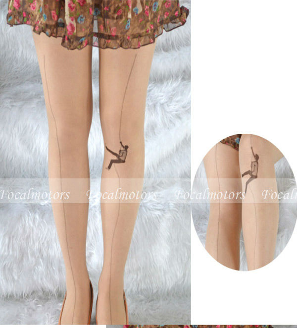 Sexy Fashion HARAJUKU Stockings Ultrathin Mountain Climbing Tattoo Design Pantyhose Tights Cute-in Tights from Apparel & Accessories on Aliexpress.com