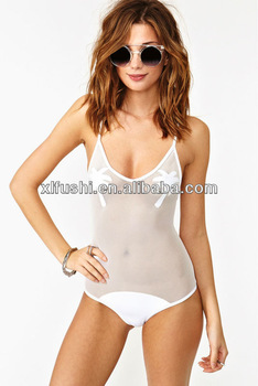 Hot Design Mesh One-Piece Sexy Women Sheer Swimwear, View Sheer Swimwear, HAIBEI Product Details from Guangzhou Xuanlang Garment Co., Ltd. on Alibaba.com