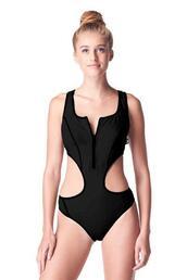 swimwear,athletic swimwear,monokini,one piece swimsuit,bikiniluxe,black designer one piece swimsuit,mesh back strap