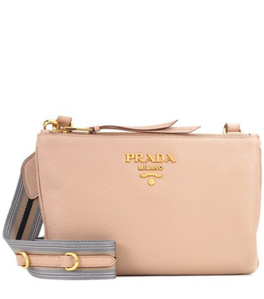 Prada bag crossbody bag leather beige