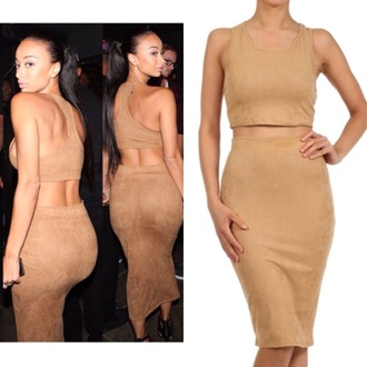 draya michele dress nuetral dresses nude dress style celebrity style lookbook fashion fall outfits