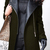 ROMWE | Romwe Panel Faux Leather Green Woolen Coat, The Latest Street Fashion