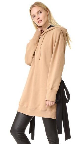 sweatshirt black beige sweater