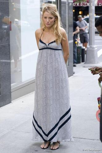serena blake lively gossip girl dress