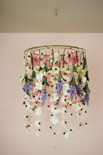 home accessory flower suspension diy