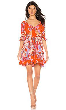 Spell & The Gypsy Collective Lily Playdress in Red from Revolve.com