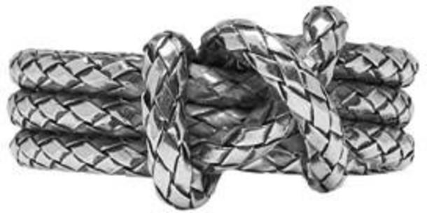 Bottega Veneta ring silver jewels