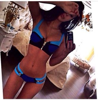 swimwear bikini zip zipper style