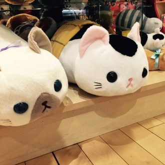home accessory cat pillow anime stuffed animal cats