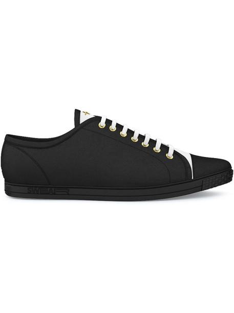 SWEAR women sneakers leather black shoes