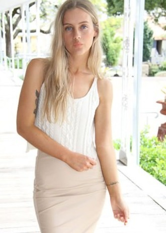 blouse crochet white cream top t-shirt shirt knit tank top tan khaki girl sweet cute lovely summer winter outfits short long sleeves modern style