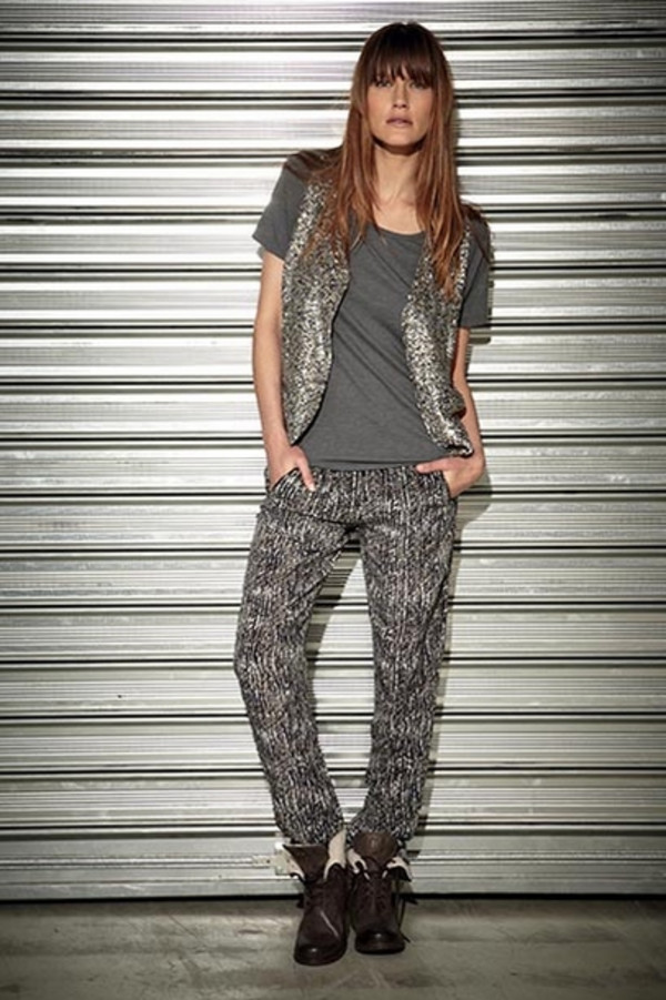 pants berenice lookbook fashion jacket t-shirt
