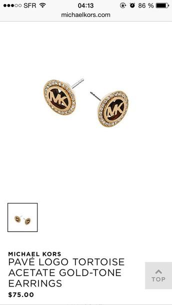 jewels michael kors earrings