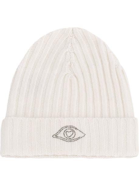 warm hat beanie white